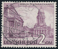BERLIN 1949, MiNr. 58 X, voll gestempelt, gepr. Schlegel, Mi. 300,-