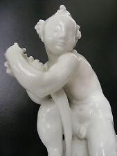 art deco KPM Berlin Zepter Porzellanfigur porcelain figur Putto Paul Scheurich