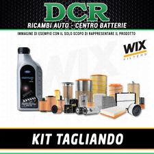 KIT TAGLIANDO FORD C-MAX 1.6 TDCi 90CV 66KW DAL 02/2007 + OLIO FORD F 5W30