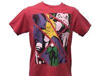 Batman The Joker Shattered Reality Vintage Retro Comic Book Men's T shirt