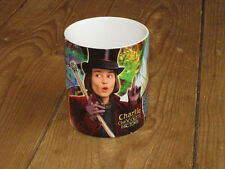 Willy Wonka Charlie and the Chocolate Factory Johnny Depp Advert MUG