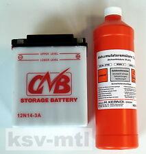 Batterie 12V-14Ah für  Rasentraktor MTD B 10