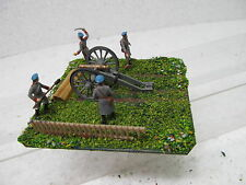 MES-39555 1:72 Artillerie-Stellung Minidiorama bemalt,