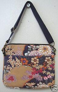 Lucky Brand Laptop Notebook Sleeve Autumn Asian Blossom EUC