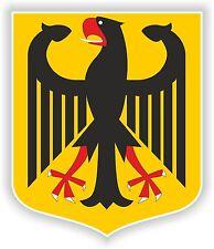 Deutschland Deutsch Wappen Aufkleber Auto Motorrad Autoaufkleber Helm Flagge