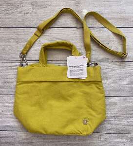 NWT LULULEMON On My Level Bag Micro SOLL Solleil Yellow 5L