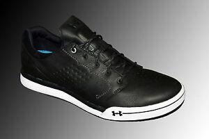 Under Armour Tempo Hybrid Leather Golf Shoes UA 1270207-011 Men Size 8