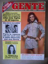 GENTE 16 1970 Milva Tamara Baroni Charles Manson Carla Fracci Bobby Solo [G234]
