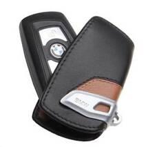 Genuine BMW Luxury Line Brown Key Case FOB Holder Fits 2012 & Up OEM 82292219917