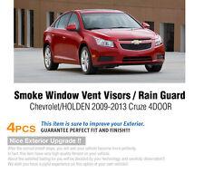 Smoke Window Sun Vent Visor Rain Guards 4P K046 For CHEVROLET 08-16 Cruze Sedan