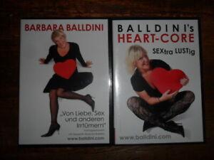 Barbara Balldini / Sextra lustig + Von Liebe, Sex und anderen Irrtümern 2 /DVD