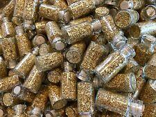 15 Large Bottles of Gold Leaf Flakes ..... Lowest price on Ebay !!