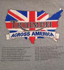 Triumph Men's L T-shirt Motorcycle British