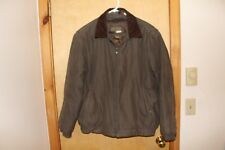 Men's Rain Forest coat size large great removable lining