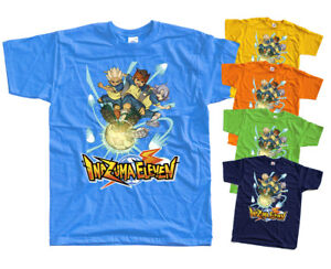 Inazuma Eleven T Shirt KIDS + MENS Mark Evans football all sizes 100% cotton