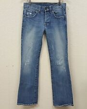 Men's William Rast BILLY Boot & Regular Distressed Look Jeans 32 x 32