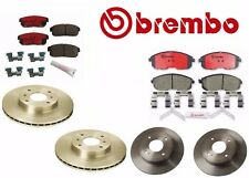 Front & Rear Disc Brake Pads & Rotors Brembo for Infiniti G20 I30 I35