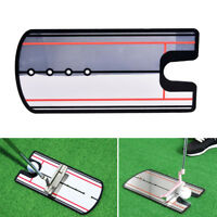 Golf Putting Mirror Training Eyeline Alignment Practice Trainer Aid Portable TS