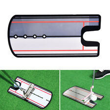 Golf Swing Straight Practice Golf Putting Mirror Alignment Training Eye Line aEV