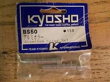 BS-50 Aluminum Collar Set - Kyosho Burns USA-1 Nitro Crusher