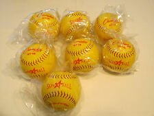 7 softballs softball Champion St12 SafeTball Official Sponge Core 12 in Nos Nwt