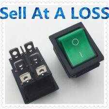 2pcs/lot LED Light 25*31mm SPST ON/OFF G129  Rocker Switch 16A/250V 20A/125V