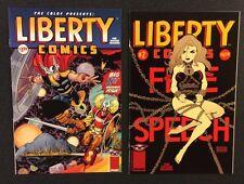 Sexy Women COMICS #1 - 2 Liberty CBLDF Image Walt Simonson Tim Sale BDSM Beauty!