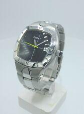 DKNY NY5005 men's full steel watch black dial NY-5005 10 ATM