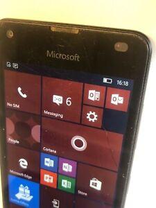 Microsoft Lumia 550 - 8GB - Black (Unlocked) Smartphone - SEE LISTING!!