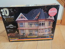 Puzzle 3d PHOTOSCAPE Painted Ladies Kodacolor Gingerbread Mansion NEW SEALED