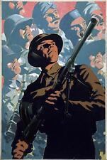 British Soldier Bren Gun Allies Commonwealth World War 2 12x8 Inch Poster Print