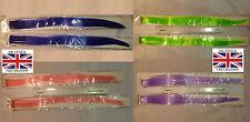 """2 PC 19"""" de Clip en extensiones de cabello y colores brillantes Multi-Fluorescente"""