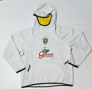 Brazil Training Sweatshirt Nike 2002 Grey Long Sleeve Rare Item