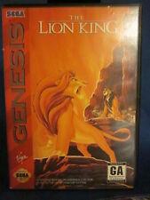 Sega Genesis The Lion King