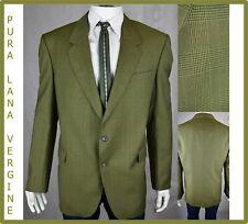giacca blazer da uomo elegante estiva classica lana primaverile 54 56 a quadri