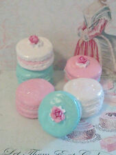 SHABBY COTTAGE FAKE MACARONS / MACAROONS HOME DECOR PHOTO PROPS PARTY DECORATION