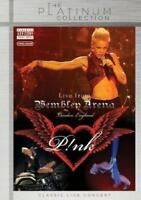 P!Nk - Live From Wembley Arena - London, England - Platinum (NEW DVD)