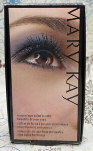 Mary Kay Mineral Eye Color Bundle Beautiful Brown Eyes New In Box Free Shipping!
