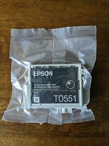 Genuine Original Unused & Vacuum Sealed Epson T0551 Ink Cartridge Set -  Black