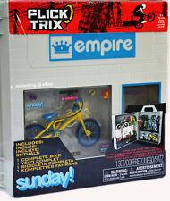 Flick Trix Empire Sunday BMX Finger Bike Service Store Display Case Set