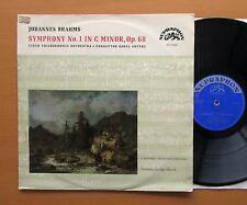 SUA 10430 Brahms Symphony no. 1 Karel Ancerl NM/VG Supraphon Mono