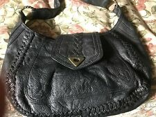 Black Leather Hobo Bag From Wilsons Leather (usa)