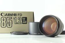 【Near Mint in Box】Canon New FD 85mm f1.2L from Japan #273