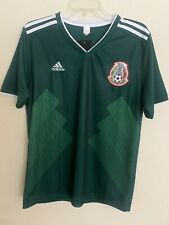 Mexico Replica Jersey 2018 World Cup Green Medium