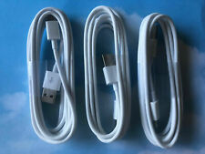cable tipo c carga rapida para samsung huawei USB typo C blanco 3 pack Nuevo 6ft