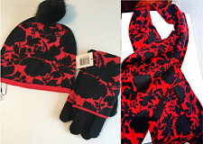 Vera Bradley Silhouette Floral Trio Set - Scarf Gloves & Hat (New & Sealed)
