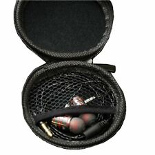 New  KZ High Quality Leather Headphone Earbuds Carrying Case Storage Box