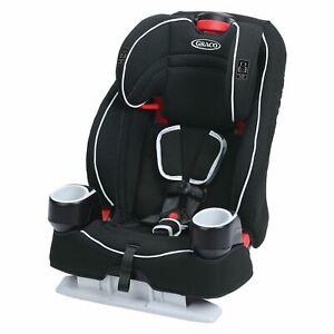 Graco Atlas 65 2-in-1 Harness Booster Car Seat, Glacier Black