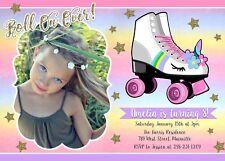 Roller Skating Party Invitations Ebay