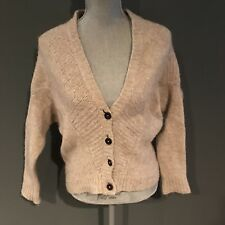 Vince Merino Wool Slouchy Cardigan Sweater Medium